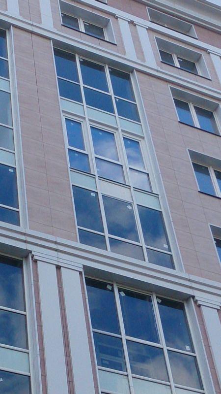 Остекление балконов и лоджий фото, фотогалерея фасадного ост.