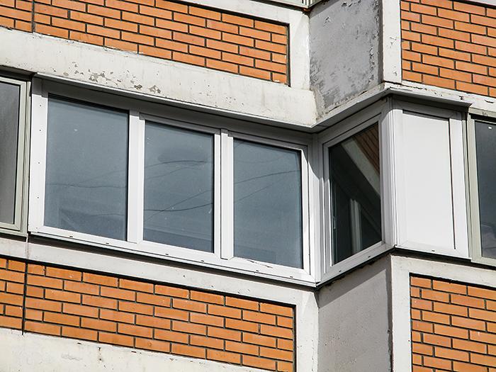 Остекление балконов тип дома п 44..