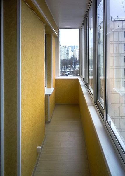 Отделка балконов и лоджий в зеленограде.